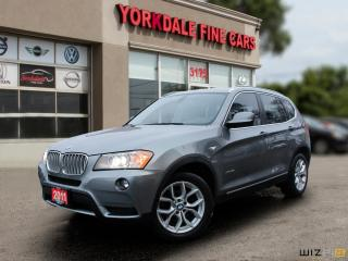 Used 2011 BMW X3 xDrive28i Sport Pkg. Navigation. Panoramic. Leather. NON ACCIDENTS for sale in Toronto, ON