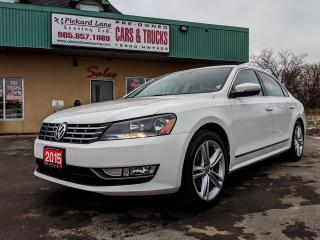 Used 2015 Volkswagen Passat 1.8 TSI Highline for sale in Bolton, ON
