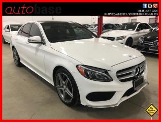 Used 2016 Mercedes-Benz C-Class C300 4MATIC PREMIUM SPORT LED HEATED STEERING for sale in Vaughan, ON