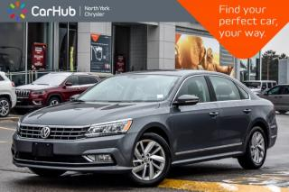 Used 2018 Volkswagen Passat Comfortline Sunroof Bluetooth Keyless_Entry for sale in Thornhill, ON