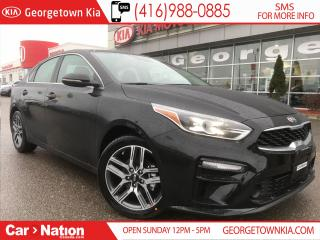 Used 2019 Kia Forte EX PREMIUM | $171 BI-WEEKLY | TOP OF THE LINE | for sale in Georgetown, ON