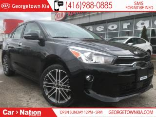 Used 2019 Kia Rio EX TECH | $157 BI-WEEKLY | LEATHER | for sale in Georgetown, ON