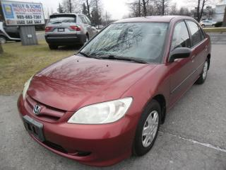 Used 2005 Honda Civic SE
