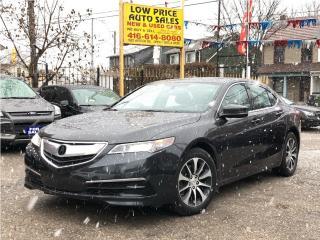 Used 2015 Acura TLX AllPowerOpti*Leather*Sunroof*FullOpti* for sale in Toronto, ON