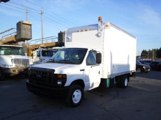 Used 2008 Ford Econoline E-450 14 foot cube van with tailgate and generator for sale in Burnaby, BC