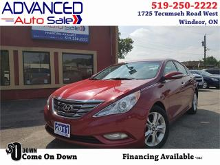 Used 2011 Hyundai Sonata Limited w/Nav for sale in Windsor, ON