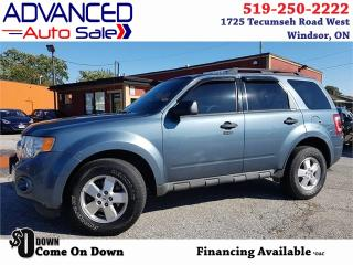 Used 2011 Ford Escape XLT for sale in Windsor, ON