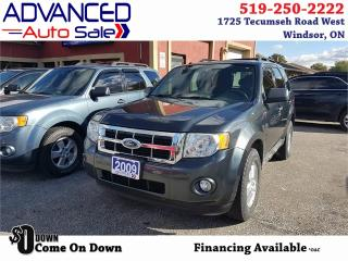 Used 2009 Ford Escape XLT for sale in Windsor, ON