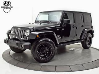 Used 2016 Jeep Wrangler Sahara 2 Toits 2 Set for sale in Brossard, QC