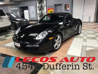 Used 2008 Porsche Boxster Convertible/Manual for sale in North York, ON