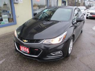 Used 2016 Chevrolet Cruze 6-SPEED MANUAL 1-LT MODEL 5 PASSENGER 1.4L - TURBO.. HEATED SEATS.. POWER SUNROOF.. BACK-UP CAMERA.. BLUETOOTH SYSTEM.. for sale in Bradford, ON