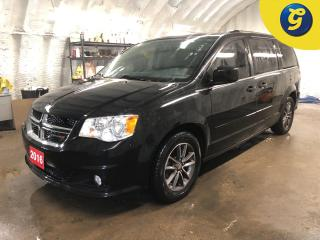 Used 2016 Dodge Grand Caravan SXT Premium Plus * Navigation *  DVD player * Leather/cloth interior * Dual Climate control * Reverse camera  * Stow and go * U connect touchscreen * for sale in Cambridge, ON