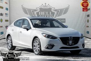 Used 2015 Mazda MAZDA3 GT NAVI, BLUETOOTH, BACKUP CAM, HEATED SEAT for sale in Toronto, ON