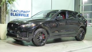 Used 2017 Jaguar F-PACE S ** AWD TECHNOLOGIE ** for sale in Blainville, QC