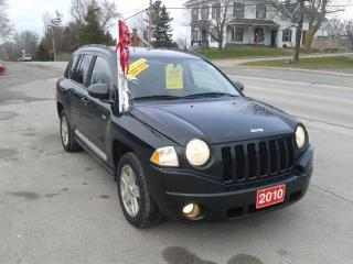 Used 2010 Jeep Compass @Ronnie B's in Bloomfield 613-393-3336 North Edition for sale in Madoc, ON