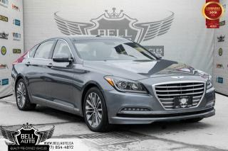 Used 2016 Hyundai Genesis Technology, BACK-UP CAM, NAVI, BLUETOOTH, LEATHER, PANO ROOF for sale in Toronto, ON