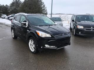 Used 2016 Ford Escape Titanium for sale in Waterloo, ON