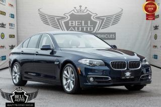 Used 2014 BMW 5 Series 535d xDrive, Navigation, back-up camera, sunroof, Leather for sale in Toronto, ON