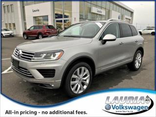 Used 2016 Volkswagen Touareg for sale in PORT HOPE, ON