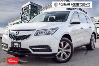 Used 2015 Acura MDX Elite at DVD| 360 Camera|Remote Start for sale in Thornhill, ON