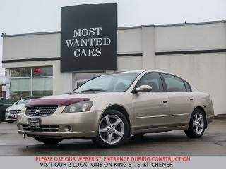 Used 2005 Nissan Altima SE | YOU CERTIFY YOU SAVE for sale in Kitchener, ON