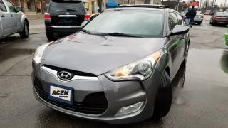 Used 2013 Hyundai Veloster w/Tech, NAV- PAN ROOF, MINT, ONE OWNER, NO ACCIDEN for sale in Hamilton, ON