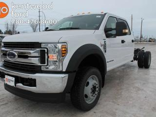 New 2019 Ford F-550 Super Duty DRW XLT 6.7L POWER STROKE DIESEL, DUAL FUEL TANKS, MYKEY, SYNC 3 VOICE ACTIVATED SYSTEMS for sale in Edmonton, AB
