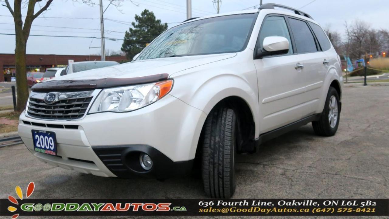 2009 Subaru Forester X w/Premium Pkg|NO ACCIDENT|SUNROOF|AWD|ALLOYS