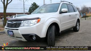 Used 2009 Subaru Forester X w/Premium Pkg|NO ACCIDENT|SUNROOF|AWD|ALLOYS for sale in Oakville, ON
