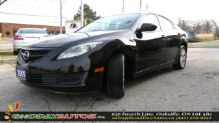 Used 2009 Mazda MAZDA6 GS|LOW KM|NO ACCIDENT|ALLOY WHEELS| for sale in Oakville, ON