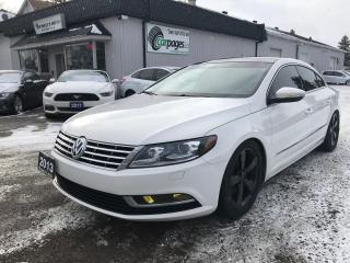 Used 2013 Volkswagen Passat CC Sportline for sale in Bloomingdale, ON