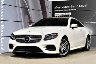 Used 2018 Mercedes-Benz E-Class E400 Awd Coupe Cuir for sale in Laval, QC