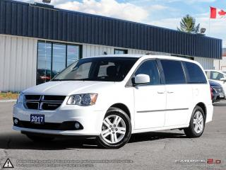 Used 2017 Dodge Grand Caravan Crew Plus,ECON,REARVIEW CAM,PWR T/GATE+S/DOORS for sale in Barrie, ON