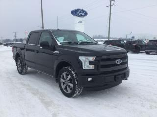 Used 2016 Ford F-150 Lariat | 4X4 | One Owner | Navigation for sale in Harriston, ON