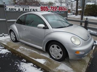 Used 2001 Volkswagen New Beetle GLS for sale in Sutton West, ON