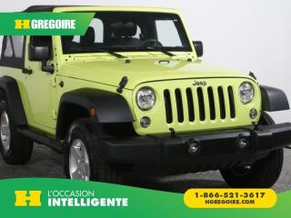 Used 2017 Jeep Wrangler SPORT A/C TOIT MAGS for sale in St-Léonard, QC