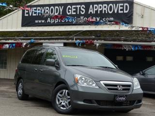 Used 2007 Honda Odyssey EX-L,*NO-ACCIDENT,*ONE-OWNER*, LEATHER,DVD,LOADED for sale in Mississauga, ON