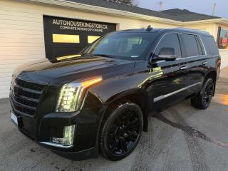 Used 2016 Cadillac Escalade LUXURY COLLECTION for sale in Kingston, ON