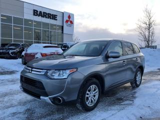 Used 2015 Mitsubishi Outlander ES All Wheel Control for sale in Barrie, ON