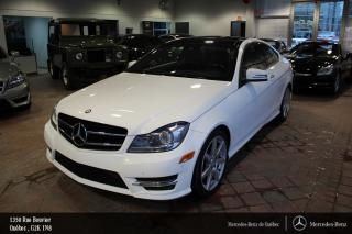 Used 2015 Mercedes-Benz C-Class C350 Awd Coupe, Cam for sale in Québec, QC