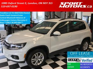 Used 2015 Volkswagen Tiguan Trendline+2.0 TSI 4MOTION+Heated Seats+Bluetooth for sale in London, ON