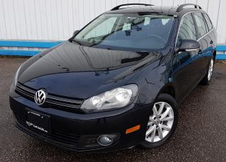 Used 2014 Volkswagen Golf Wagon Comfortline TDI *DIESEL* for sale in Kitchener, ON