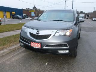 Used 2010 Acura MDX Tech pkg for sale in Weston, ON