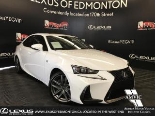 Used 2018 Lexus IS 350 AWD F Sport Series 3 for sale in Edmonton, AB