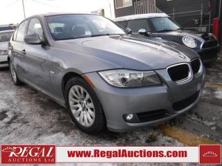 Used 2009 BMW 3 SERIES 323I 4D SEDAN for sale in Calgary, AB