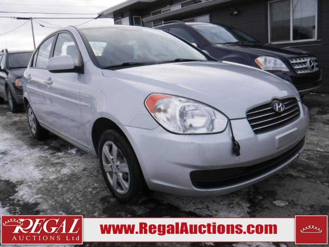 Photo of Silver 2010 Hyundai Accent