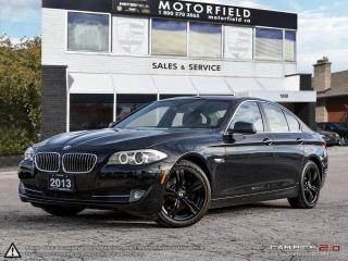 Used 2013 BMW 5 Series 528i xDrive *Accident Free, Navi, Rear Cam, Loaded for sale in Toronto, ON