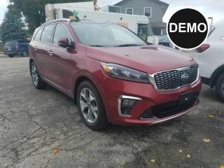 Used 2019 Kia Sorento 3.3L SX 7-Seater | Dealer Demonstrator for sale in Listowel, ON