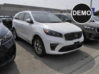 Used 2019 Kia Sorento 3.3L SXL Limited 7-Seater | Dealer Demonstrator for sale in Listowel, ON