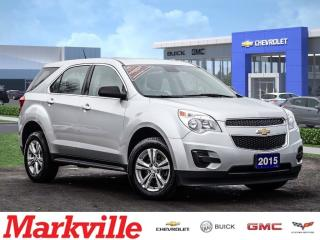 Used 2015 Chevrolet Equinox LS-AWD-GM CERTIFIED PRE-OWNED-1 OWNER for sale in Markham, ON
